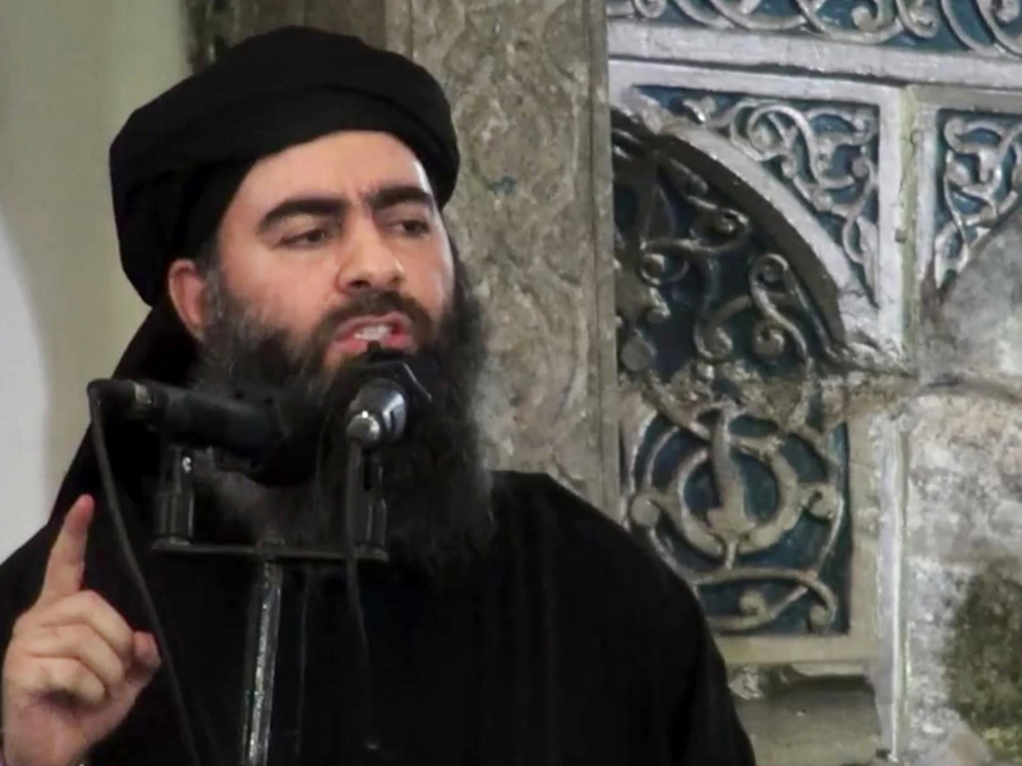 لاهور طالباني : ابو بكر البغدادي مازال حياً وهو موجود في الرقة