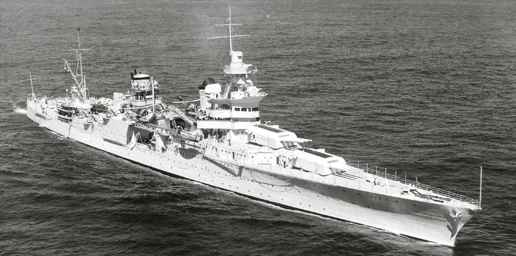 العثور على سفينة حربية امريكية أغرقتها الغواصات اليابانية منذ 72 عاما في المحيط الهادي