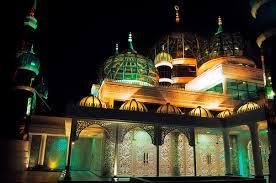 مسجد الكريستال بماليزيا 746549872