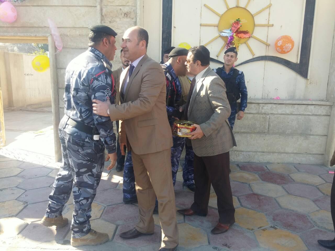 دار الشؤون الثقافيــة العامة تهنئ الشرطة العراقية قادةً وضباطاً