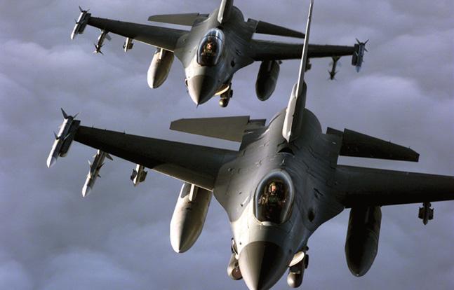 التحالف الدولي يعلن عن منح 13 طائرة من طراز F16 للعراق