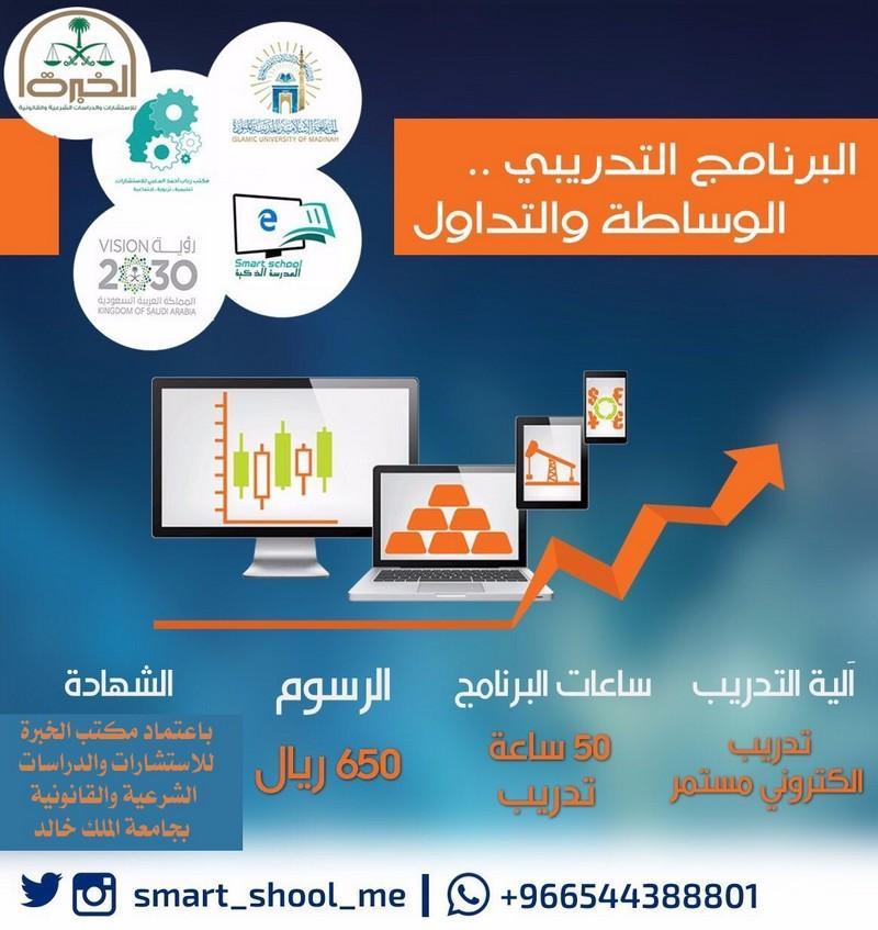 البرنامج التدريبي (الوساطة والتداول) تدريب الكتروني متاح ساعة 681164889.jpg