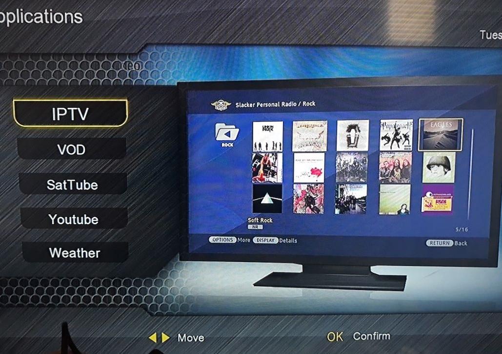 جديد موقعVISION بتاريخ 15/05/2018 جهاز SATTUBE TV  VISION CLEVER 4
