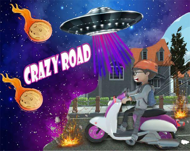لعبة crazy road