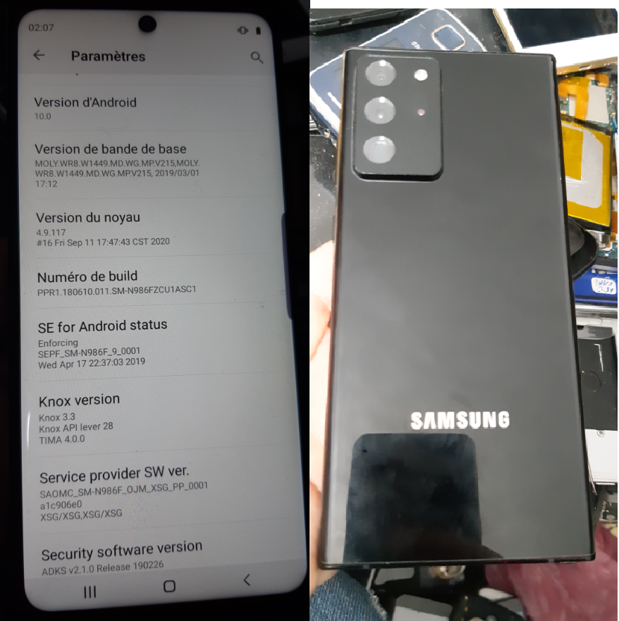 Fullflash_MT6580 Samsung G9880 (Note 20 Ultra 5G)  10.0  By NCK